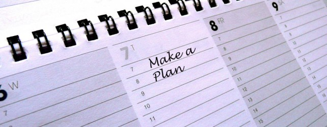 The Importance of Having a Plan