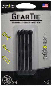GearTie Reusable Rubber Twist Ties