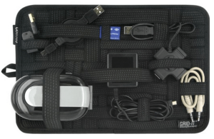 The Grid-It Organizer makes it easy to organize your gear.